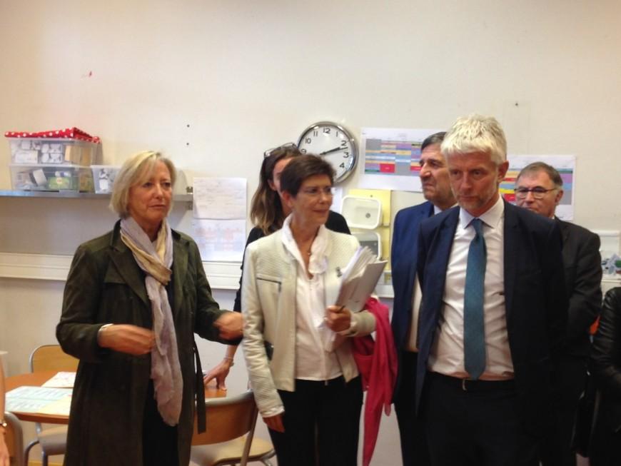 Déplacement à Lyon de la secrétaire d'Etat en charge des personnes handicapées