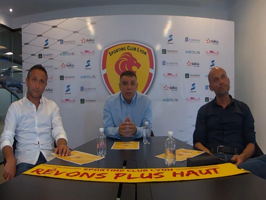Lyon Duchère devient officiellement le Sporting Club de Lyon et vise la Ligue 2