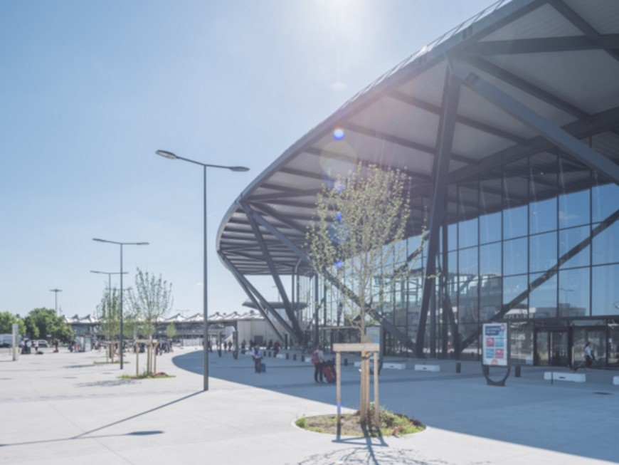 Le Terminal 1 de l'aéroport de Lyon-Saint Exupéry bientôt prêt !