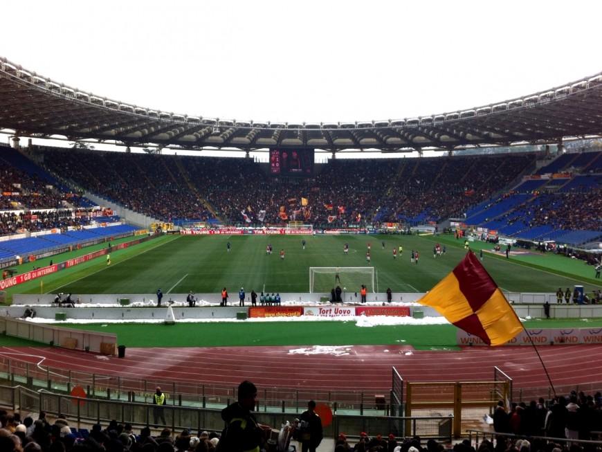 Ligue Europa : L'OL dans un Stadio Olimpico presque vide pour le match retour
