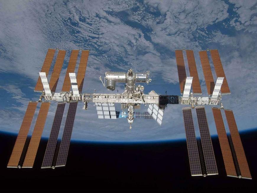 Des matériaux lyonnais embarqués dans la navette spatiale transportant Thomas Pesquet