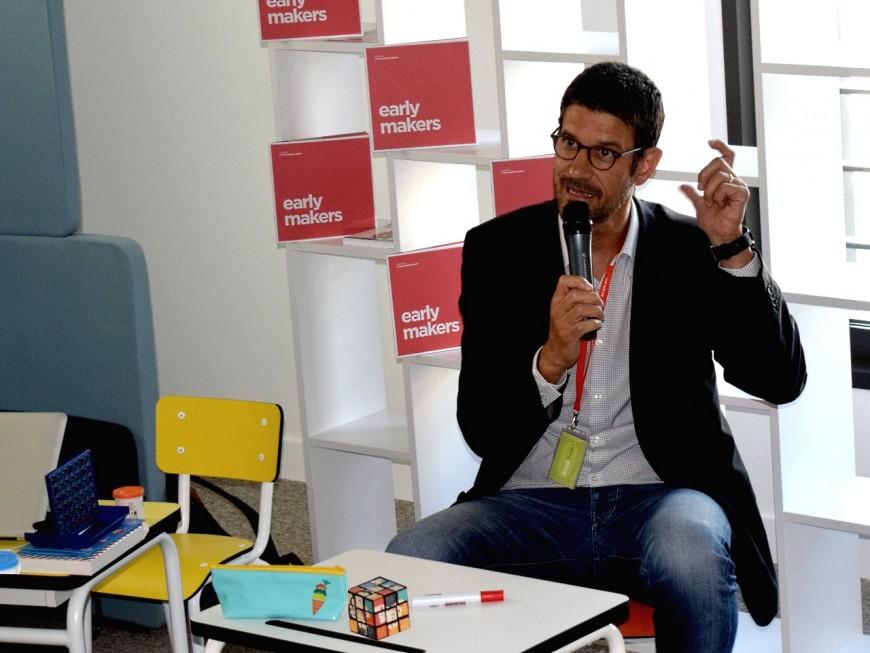 Visite de la rentrée à la Métropole de Lyon : du béton et de l'innovation