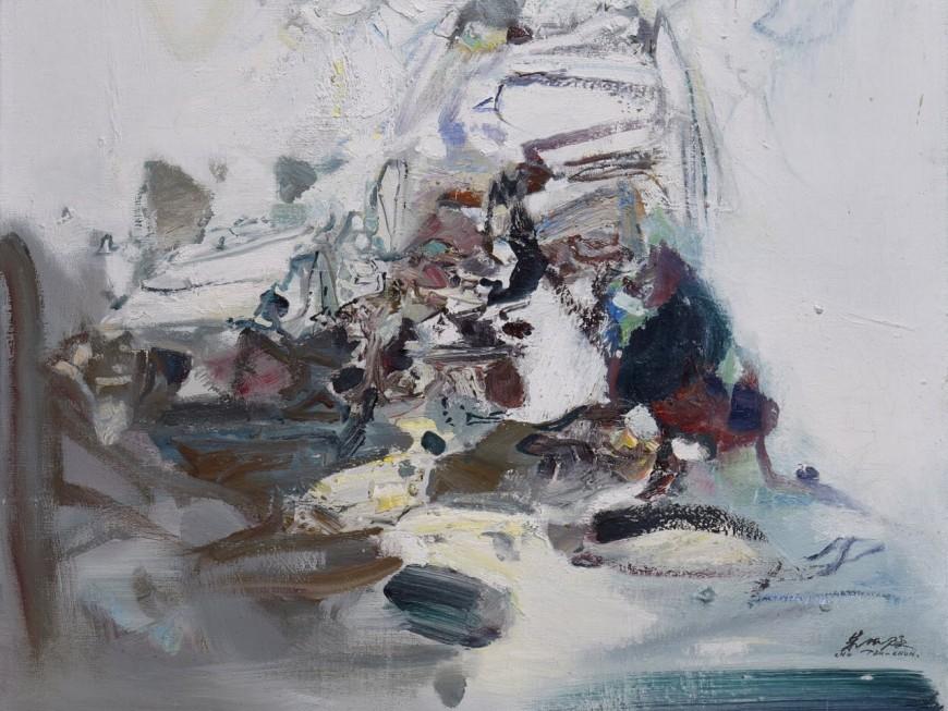 Un tableau de l'artiste Chu Teh-Chun adjugé 190 000 euros à Lyon !