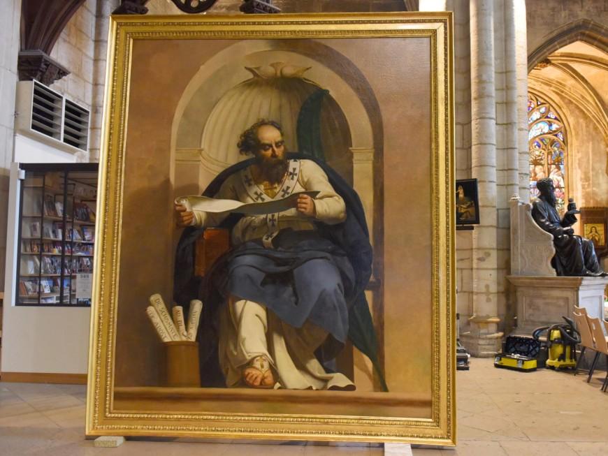 L'évêque saint Irénée retrouve l'église Saint-Nizier