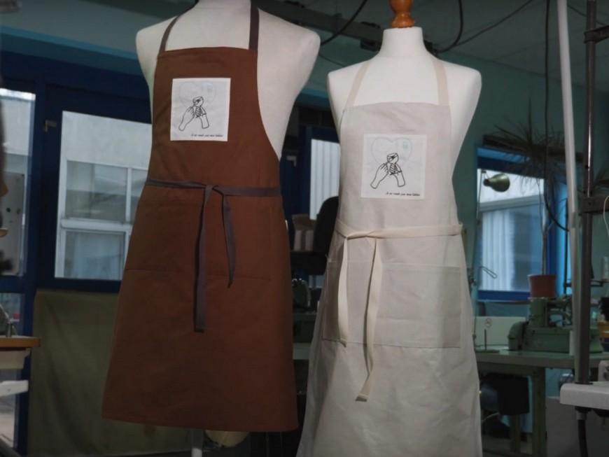 Une vente de tabliers pour soutenir les restaurateurs lyonnais
