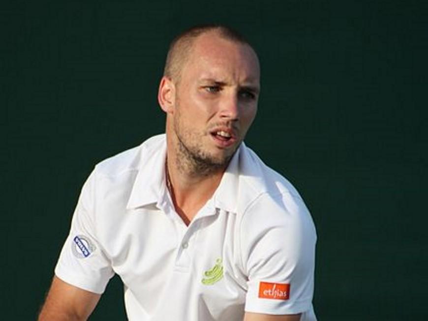 Le Belge Steve Darcis remporte l'Open de tennis de Lyon
