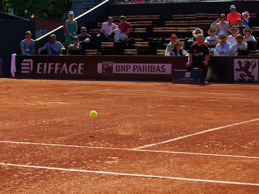 Tennis : deux Français éliminés à l'Open Parc Auvergne-Rhône-Alpes