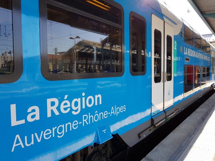 Retour à la normale ce mardi pour les trains entre Lyon et Saint-Etienne