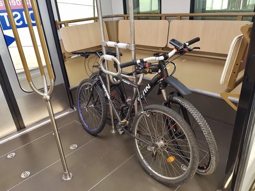 Lyon: un test en cours pour emmener son vélo dans les transports en commun