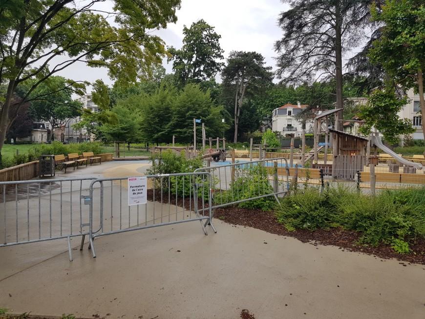 A Lyon, les aires de jeux et de fitness restent fermées