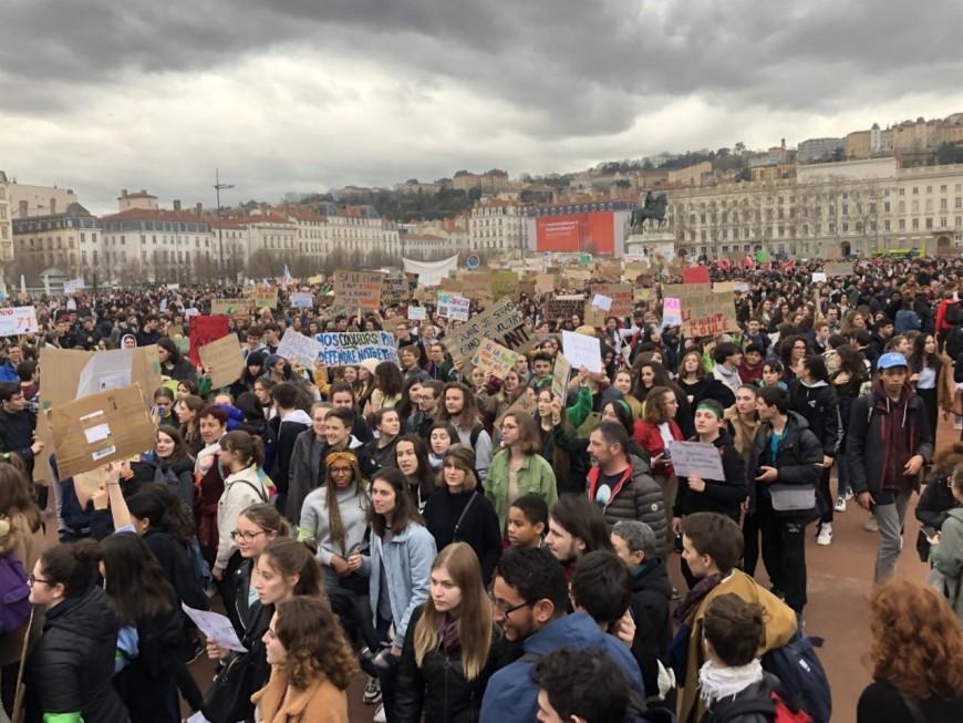 12 000 lycéens lyonnais mobilisés pour le climat ce vendredi