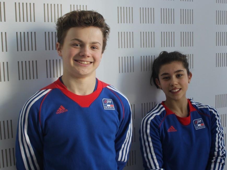 Cinq jeunes trampolinistes lyonnais lancent un appel aux dons pour participer aux championnats du monde