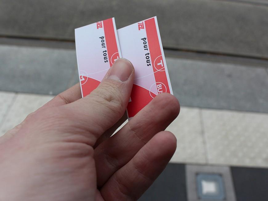 TCL : une manifestation à Lyon pour légaliser le don de ticket