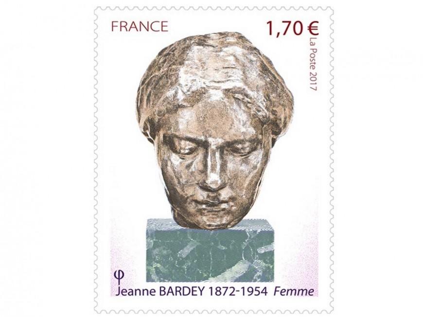 Jeanne Bardey, artiste lyonnaise, aura un timbre à son effigie
