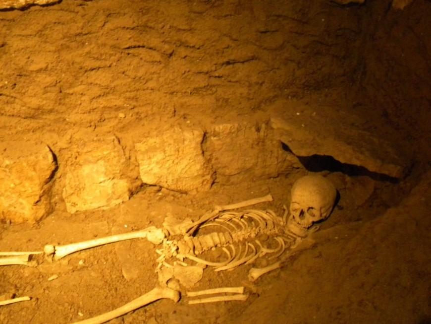 Un sarcophage mérovingien vandalisé dans la région