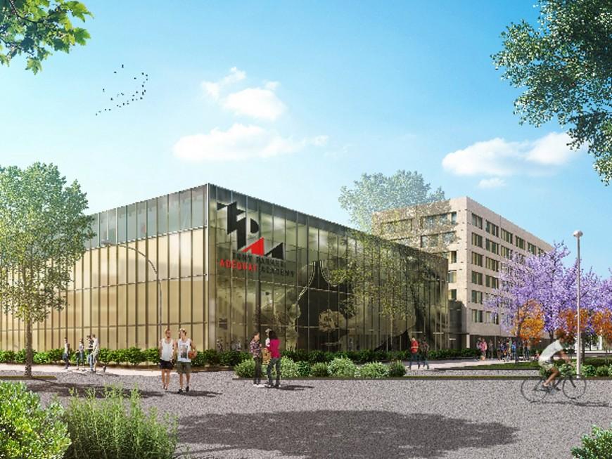 """""""TP Academy"""" à Gerland : Adéquat pour le naming, inauguration en 2018 !"""