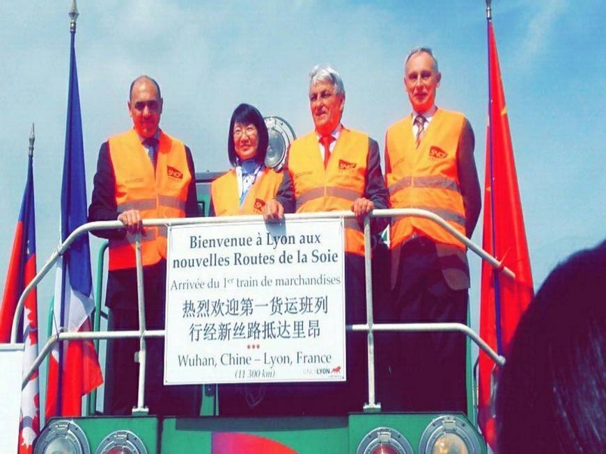Lyon : un train touristique directement relié à la Chine ?