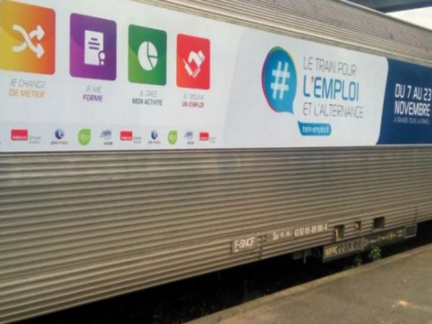 Le Train pour l'alternance et l'emploi s'arrête à Lyon ce lundi