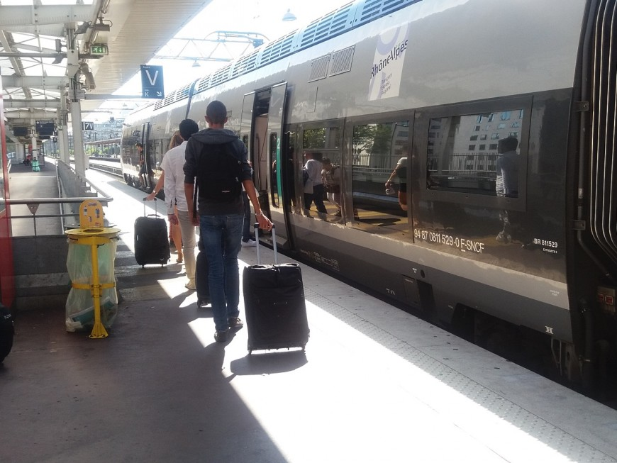 Trafic des trains perturbé au départ de Lyon et vers Genève-Annemasse et Ambérieu-Chambéry