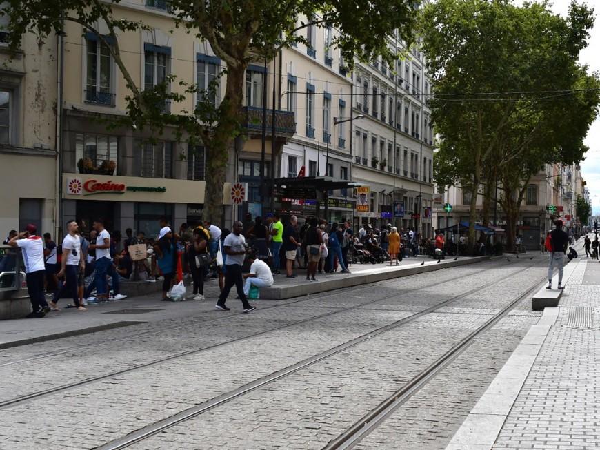 Lyon: l'arrêt Guillotière plus desservi pendant deux jours par le métro et le tram
