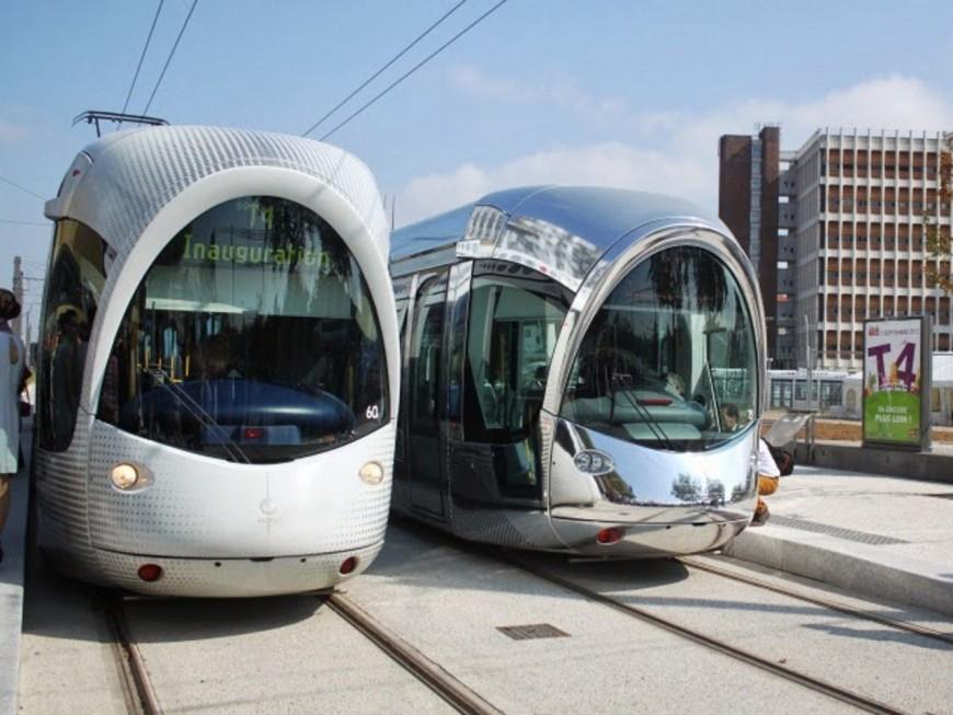 Le tramway T4 ne circule plus entre Lyon 8e et Vénissieux à partir de ce lundi