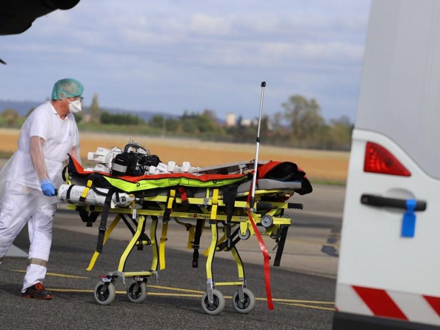 Covid-19 : bientôt 200 transferts de patients d'Auvergne-Rhône-Alpes