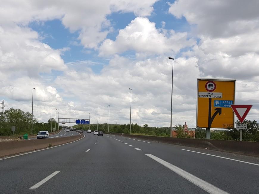 Travaux : galère en vue pour les automobilistes entre Lyon et Saint-Etienne