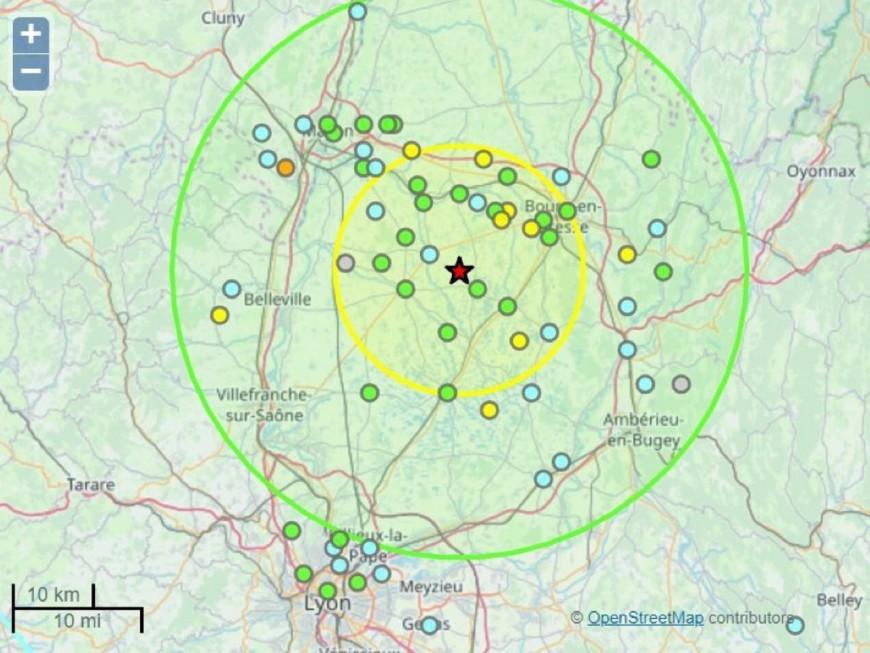 Un tremblement de terre mercredi soir dans la région !