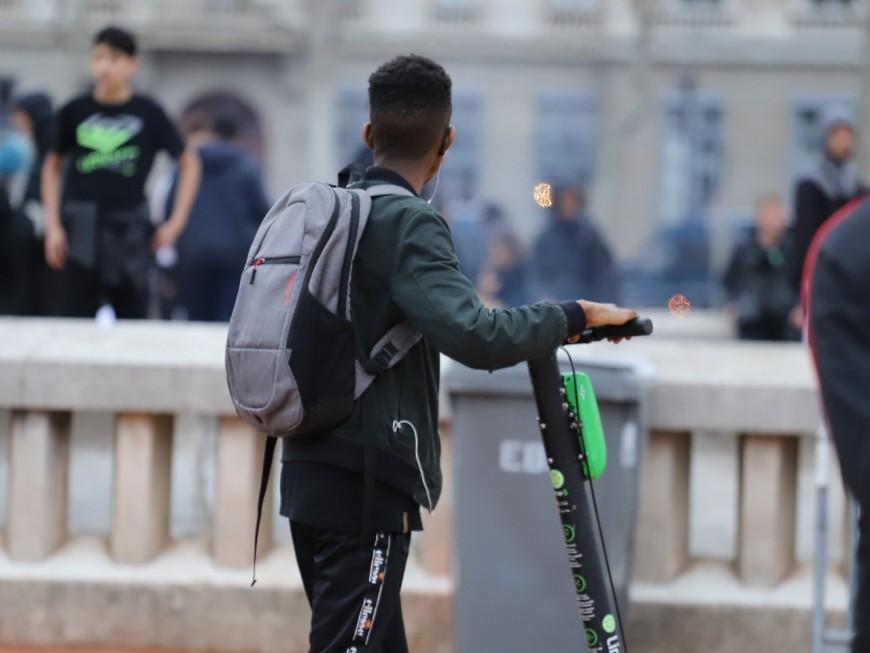 Les accidents de trottinettes électriques en hausse de 115% à Lyon