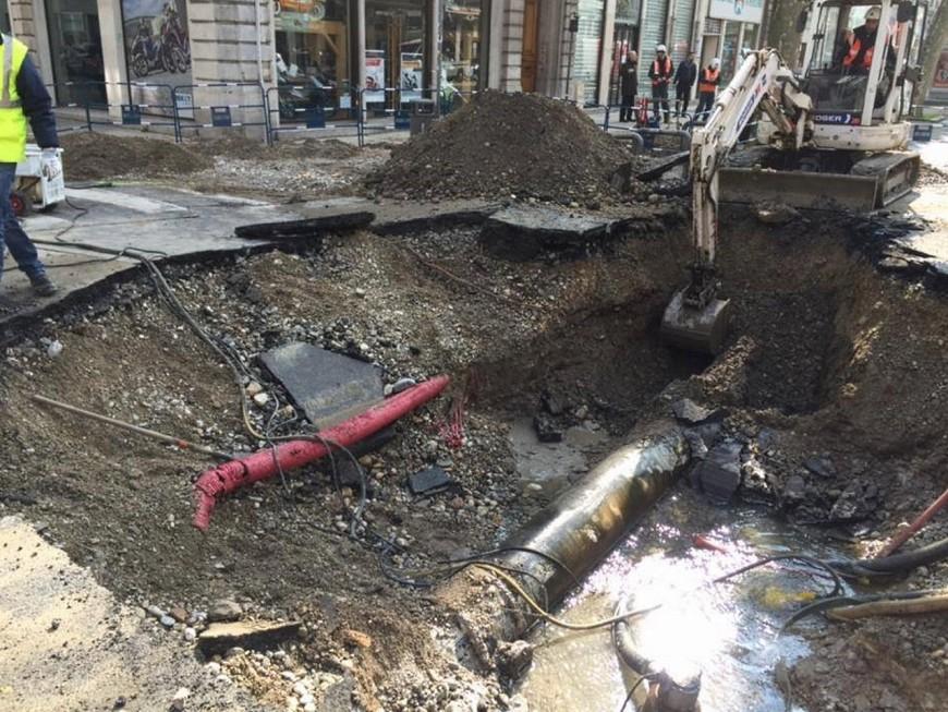 Lyon : l'avenue de Saxe coupée plusieurs jours à cause du trou béant