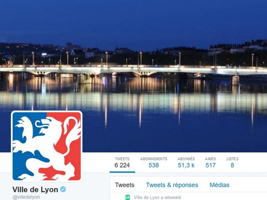 Lyon dans le Top 5 des villes françaises les plus suivies sur Twitter