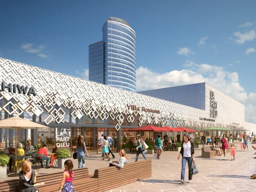 Lyon : arbres, réalité virtuelle et restaurants sur le toit-terrasse du centre commercial Part-Dieu