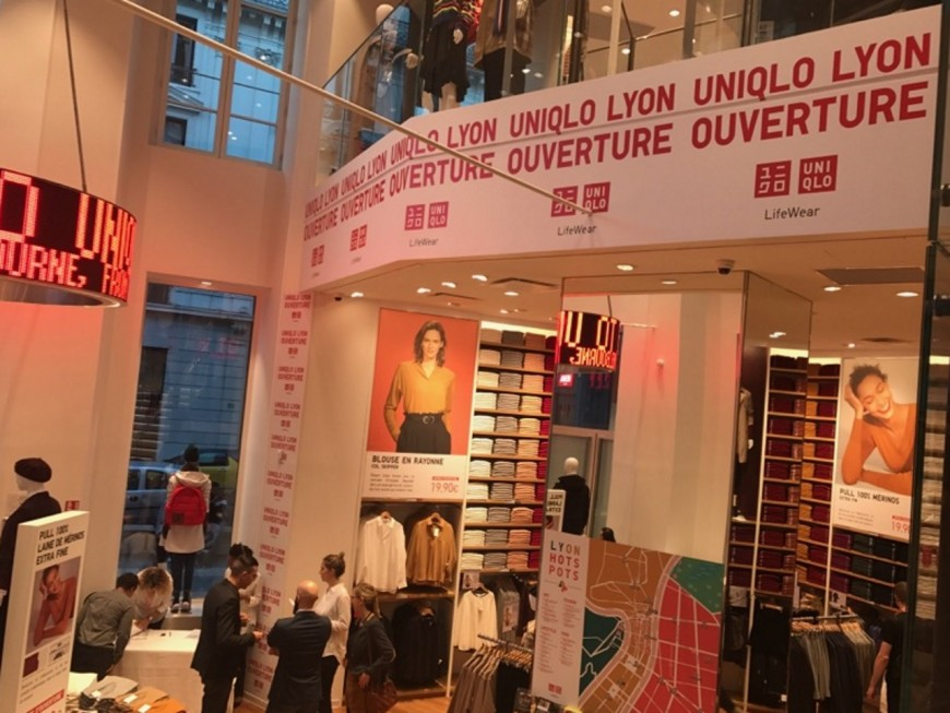 L'ouverture d'Uniqlo à Lyon, c'est ce vendredi !