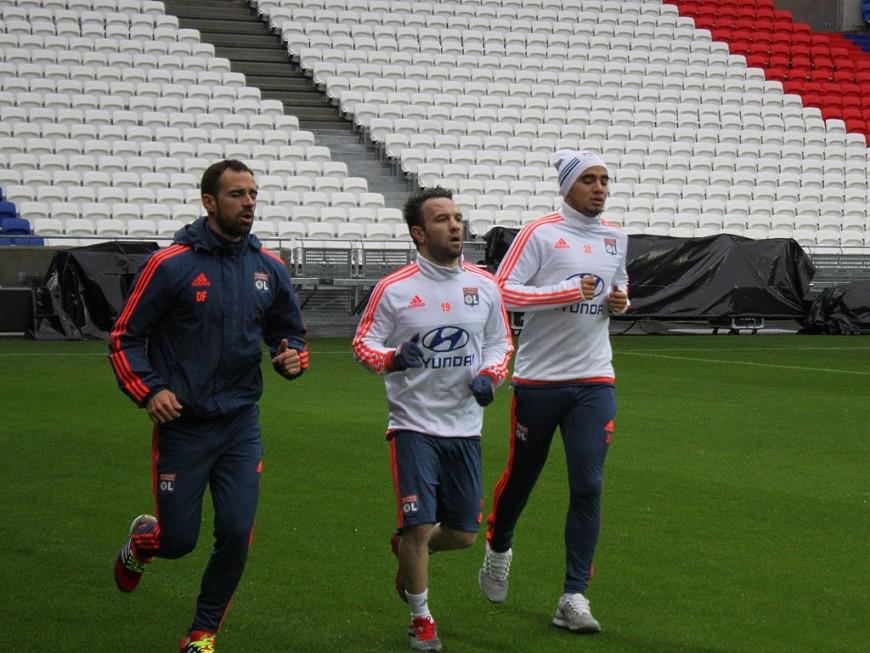 L'OL à Lorient sans Rafael ni Gonalons, mais avec Valbuena
