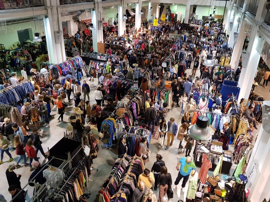 Le Marché de la Mode Vintage a fait le plein !