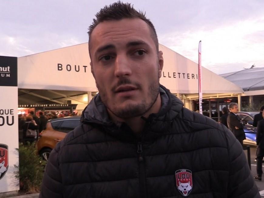 LOU Rugby : fin de saison pour Virgile Bruni