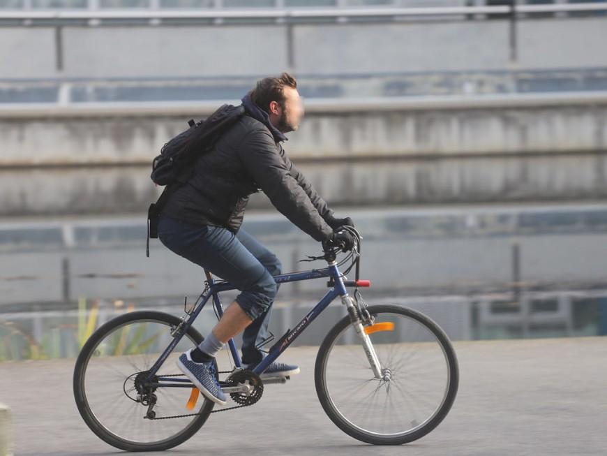 Le trafic vélo en hausse de 10% dans la Métropole de Lyon