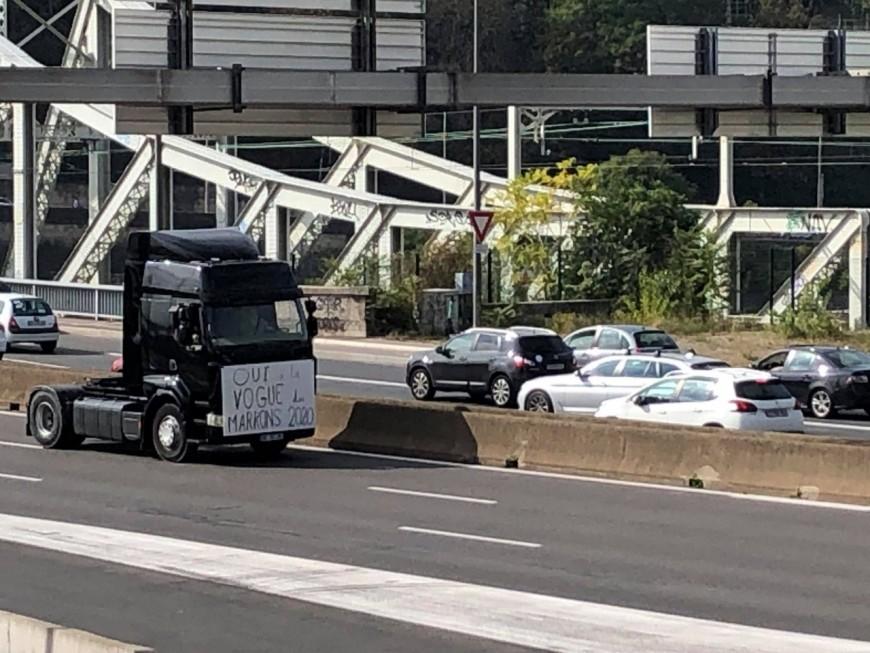 Lyon : nouvelle opération escargot des forains ce lundi matin (MàJ)