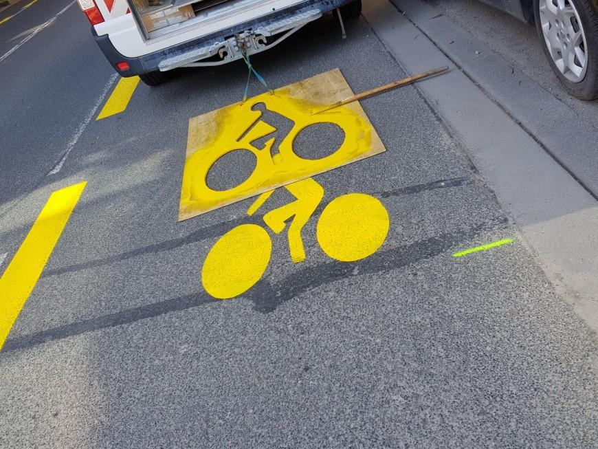 Pistes cyclables provisoires à Lyon : 75% des habitants veulent les garder !