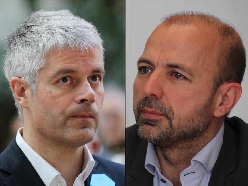 Bataille de chiffres entre Laurent Wauquiez (LR) et Jean-François Debat (PS)