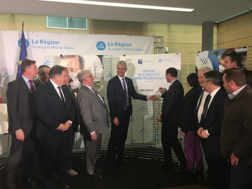 La Région investit 30 millions d'euros pour soutenir l'artisanat