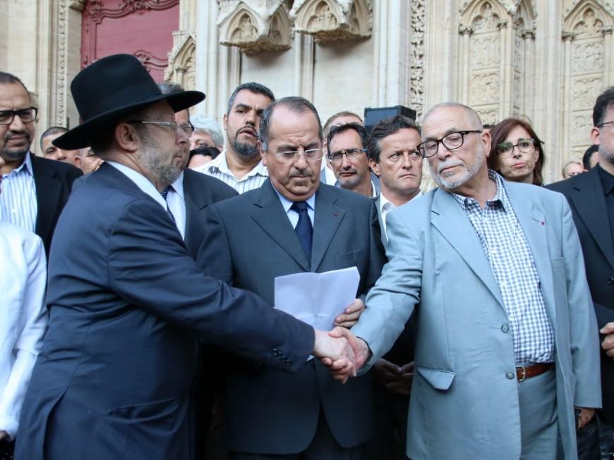 Lyon : le recueillement avant le renforcement de la sécurité autour des lieux de culte