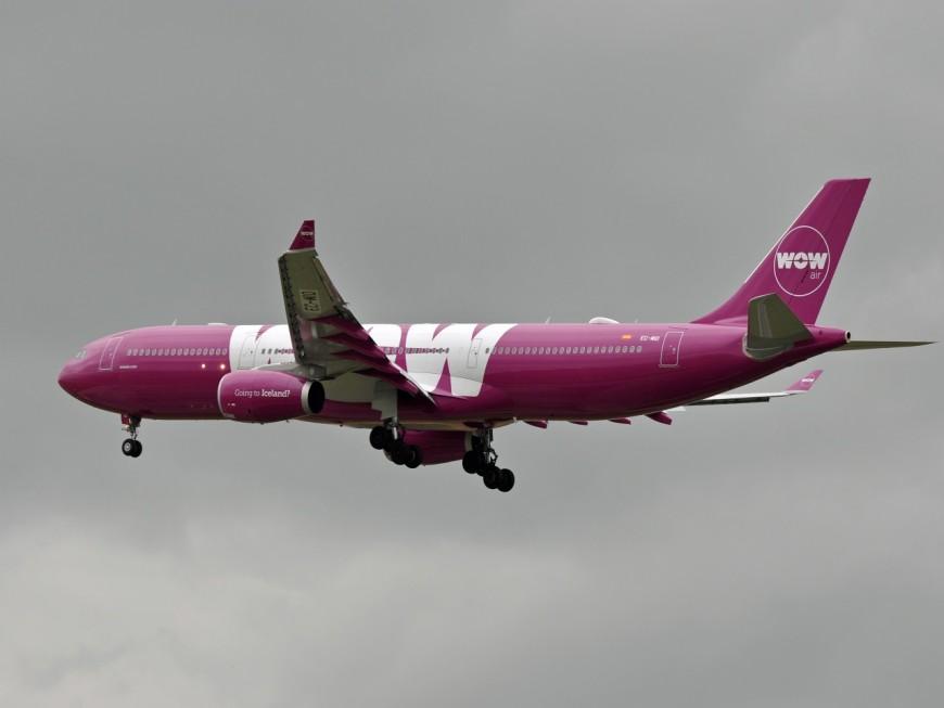 Wow Air inaugure des vols low-cost entre Lyon et New-York
