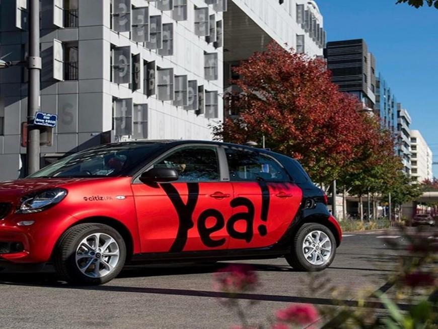 Auto-partage : 50 nouvelles voitures Yea à Lyon