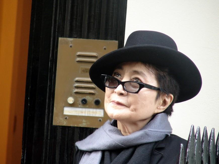 Yoko Ono viendra finalement à Lyon en mai