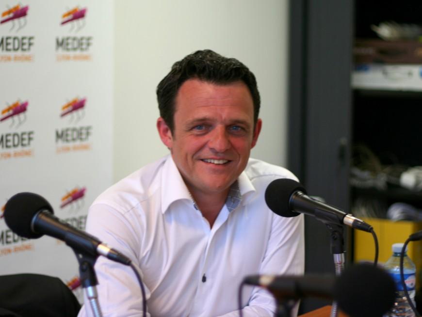 Laurent Fiard officiellement président du Medef Lyon-Rhône