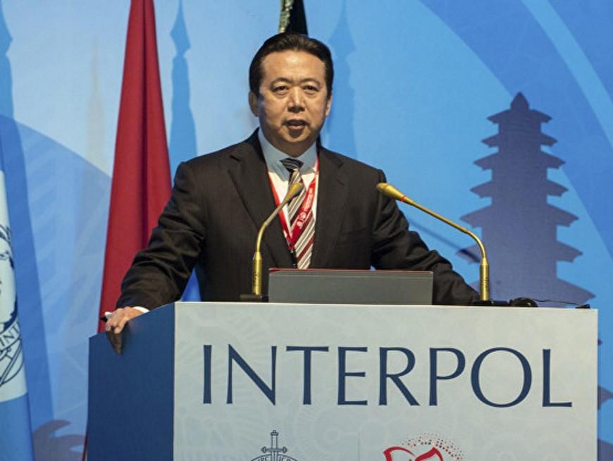 L'ex-patron d'Interpol inculpé pour corruption en Chine