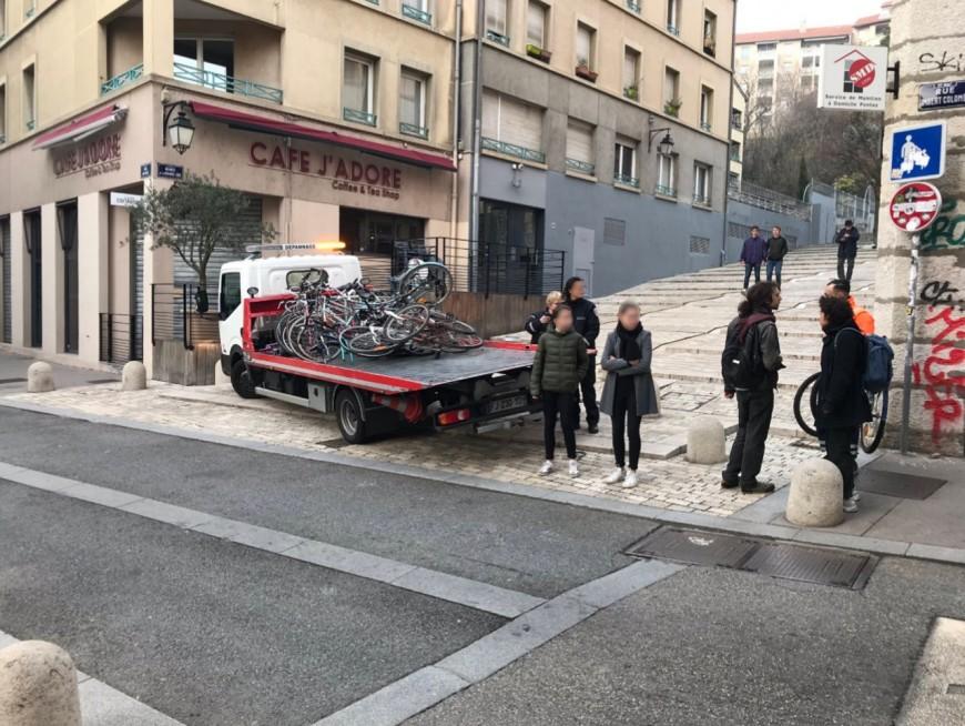 """La Ville à Vélo accuse la Ville de Lyon """"d'enlèvement abusif"""""""