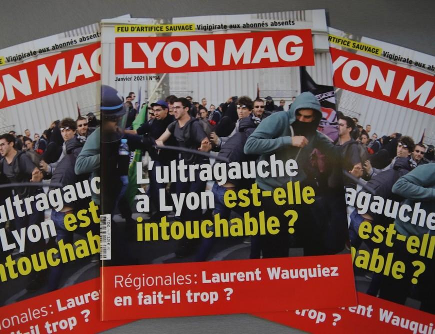 L'ultragauche et ses dérives en Une de LyonMag !
