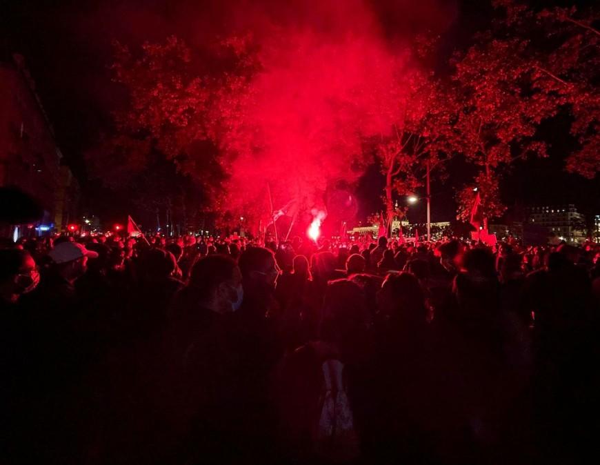 Lyon : 500 personnes manifestent contre la loi Sécurité globale